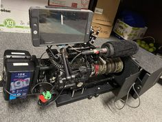 40lb FS7 rig today #Videography