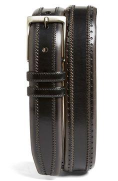 Mezlan 'Diver' Leather Belt available at #Nordstrom