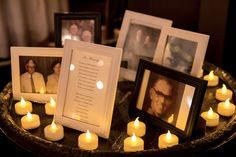 Amanda - I want to add memory table at our wedding :) Ill have all the picture frames... with pictures :)