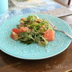 Kitchen remodel & Watermelon quinoa salad recipe - The Crafty Quilter