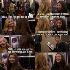 "S1 Ep1 ""Girl Meets World"" - Maya and Riley"
