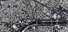 Damien Hirst; City Maps Made Out of Razor Blades and Mirror Shards