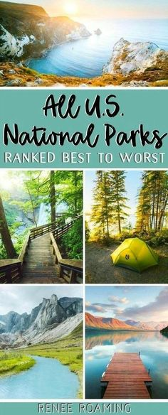 US National Parks Ranked Best To Worst - First-Hand Experience! - US travel