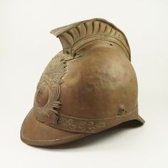 19th century French Pompiers Fireman's Helmet