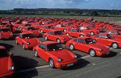 So, you can have a 993 in any colour as long as it is red.