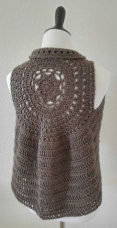 Ravelry: The Taylor Vest pattern by Bodhi Life Creations Free pattern yey!!