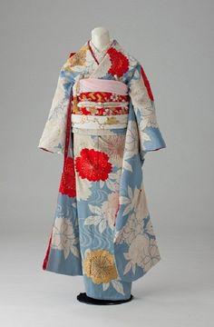 昭和初期の振り袖 もっと見る