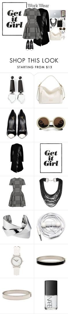"""""""Prince of wales check"""" by nastiarl ❤ liked on Polyvore featuring Emporio Armani, Coach, Giuseppe Zanotti, Wildfox, Neil Barrett, WALL, Alexander McQueen, Topshop, Whistles and Urbanears"""