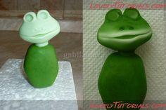 Лягушки - Мастер-классы по украшению тортов Cake Decorating Tutorials (How To's) Tortas Paso a Paso