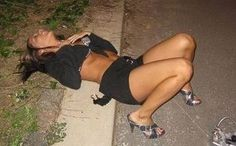 I'm Sooooo Wasted!- Click to read about the types of drunk girls