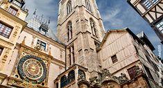 Gros Horloge, Rouen, France.