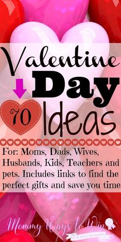 This Valentine Day list has everything I need including the links so I don't have to spend all day looking around for ideas