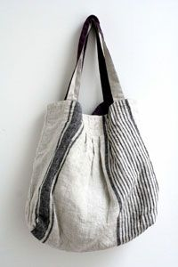 Gorgeous, gorgeous japanese linen bag.