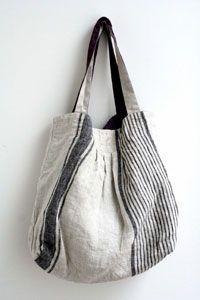 フロウ・リバーシブル・プリーツバッグ|Lino e Lina オンラインストア