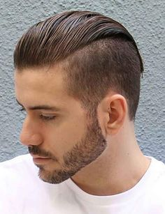 How to get the most from the latest in men's hairstyles - Hair Styles 😎 Mens Hairstyles 2018, Bob Hairstyles For Thick, Sleek Hairstyles, Boy Hairstyles, Girl Haircuts, Haircuts For Men, Haircut Men, Uneven Bob Haircut, Side Braid With Curls