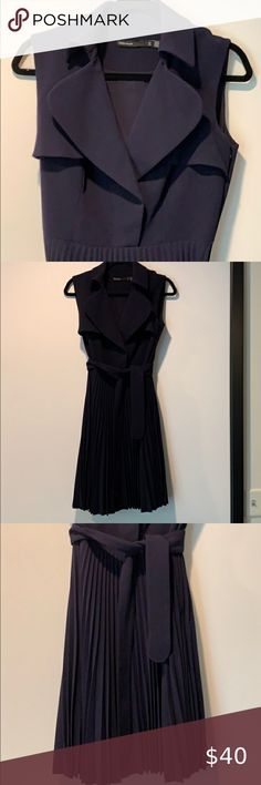 COPY - Karen millen dress Karen millen dress in dark Blue color Very elegant and quality dress. Just cleaned at Tide cleaners Only dry cleaners Size is small/medium UK 12 US 8 EU40 Karen Millen Dresses Mini
