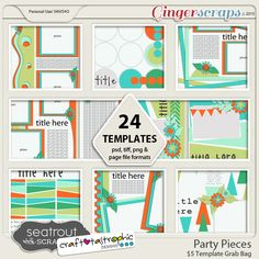 GingerScraps 7th Birthday Celebrations with Seatrout Scraps! Party Pieces; http://store.gingerscraps.net/Party-Pieces-Template-5-Grab-Bag.html. 09/18/2015