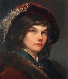 Молодой паж, автор Шишкин Андрей. Артклуб Gallerix