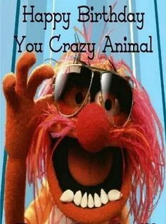 You Crazy Animal You... Happy Birthday ALS... :)