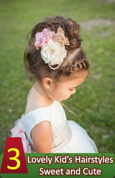 Kid's hairstyle included with tips and suggestions that will help you to get the perfect kid's hairstyle idea. Discover some cute hairstyles for your kids.