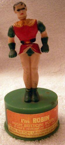 Robin push puppet.