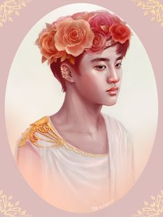 Greek God!Kyungsoo by thealmightyp
