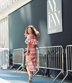 It's Fashion Week Recap! Nicole Pinheiro com nosso Cropped e Saia Midi Natura