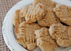 not so guilty peanut butter cookies