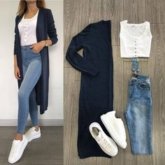 New Fashion Casual Hijabi Jeans 20 Ideas – Outfits – – Hijab Fashion 2020 Hijab Fashion, New Fashion, Trendy Fashion, Fashion Outfits, Fashion Mode, Jeans Fashion, Trendy Style, Mode Ootd, Mode Hijab