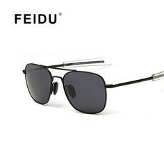 FEIDU 2016 Polarized Pilot Sunglasses Men Alloy Frame Coating Mirrors Driving Sun glasses For Men Classic Gafas Oculos De Sol