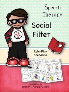 Speech Therapy Social Filter. Repinned by SOS Inc. Resources pinterest.com/sostherapy/.