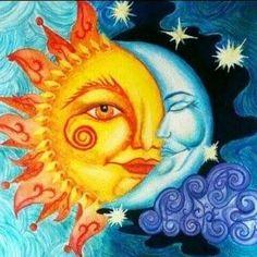 Moon & Sun Art  ☀️