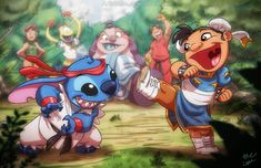 Street Fighter Ohana by *ArtistAbe on deviantART