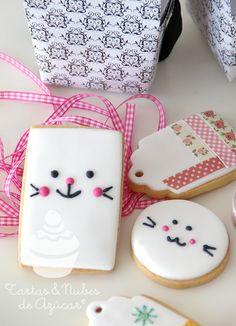 cookies para Ishtar Olivera de Tartas y nubes de azúcar