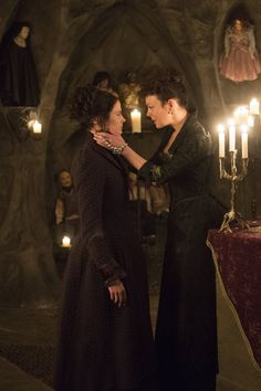 Penny Dreadful | Season 2 | Eva Green as Vanessa Ives and Helen McCrory as Madame Kali or Evelyn Poole