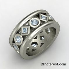 Multi-stone, Anniversary #Band in #Sterling #Silver  #Jewelry http://blingterest.com/rings/anniversary-bands/multi-stone-anniversary-band-in-sterling-silver-1172753-jewelry/