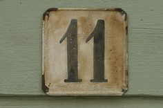 Seeing Number Eleven