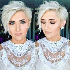 30 Beste asymmetrische kurze Haarschnitte für Frauen aller Zeiten