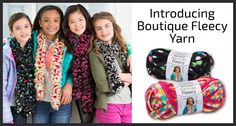 Introducing our new Boutique Fleecy Yarn!