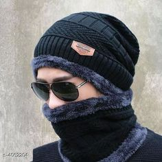 Caps & Hats Latest Attractive Men's Woollen Head & Neck Cap Beanies Combo Material: Wool Multipack: 1 Sizes: Free Size Country of Origin: India Sizes Available: Free Size   Catalog Rating: ★4.1 (1985)  Catalog Name: Latest Attractive Men'S Woollen Head & Neck Cap Beanies Combo CatalogID_576398 C65-SC1229 Code: 303-4062204-666