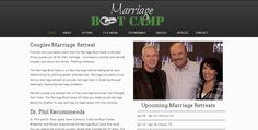 The Marriage Boot Camp is an intense, marriage seminar and couples marriage retreat with incredible success rates.