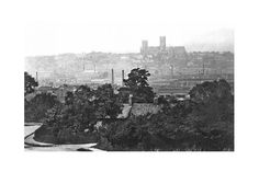The City From Canwick Hill  1890, Lincoln