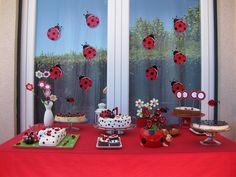 Festa tema Joaninha | Macetes de Mãe