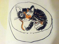 kitten by oswald flump