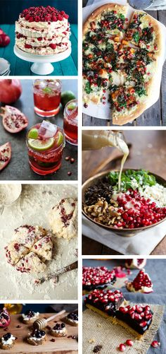 Pomegranate Fontina Rice Balls Recipes — Dishmaps