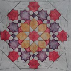 #Islamicart #geometry #eightfold