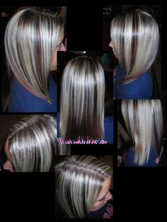 peek a boo highlights this is exactly how I want my hair