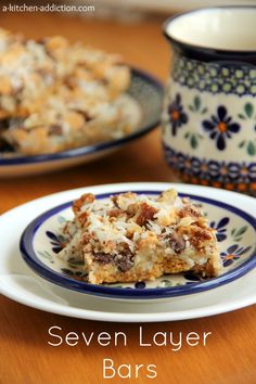 Seven Layer Bars by A Kitchen Addiction