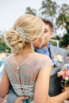 25 Best Prom Updo Hairstyles Related posts: Quick and Easy Hairstyles for Summer with Hair Accessories Elegant Prom Updo Wedding Hairstyles for Medium length Hair. African Wedding Hairstyles, Unique Wedding Hairstyles, Bob Hairstyles For Fine Hair, Bride Hairstyles, Headband Hairstyles, Updo Hairstyle, Hairstyle Ideas, Hairstyle Pictures, Teenage Hairstyles