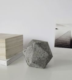 DIY Geometric Concrete Paperweight http://sulia.com/my_thoughts/e1111037-3dad-4aaf-815b-1ac5b3d073a5/?source=pin&action=share&ux=mono&btn=big&form_factor=desktop&sharer_id=0&is_sharer_author=false